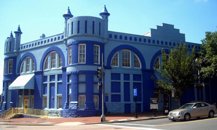 1. Blue Castle