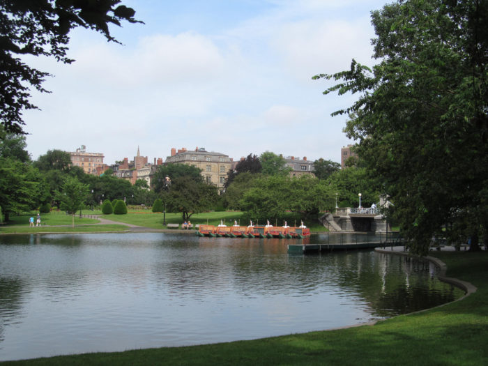 1. Boston is home to the oldest U.S. public park.