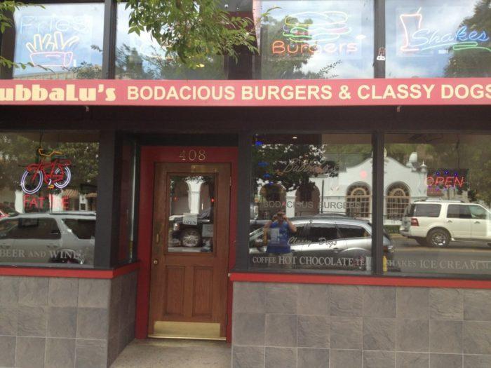 3. BubbaLu's Bodacious Burgers  & Classy Dogs (Hot Springs)