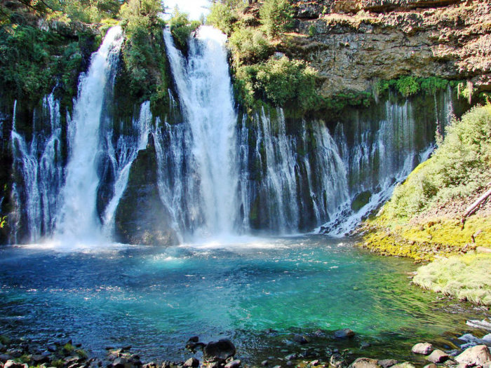 1. Hike to McArthur/Burney Falls at the state park