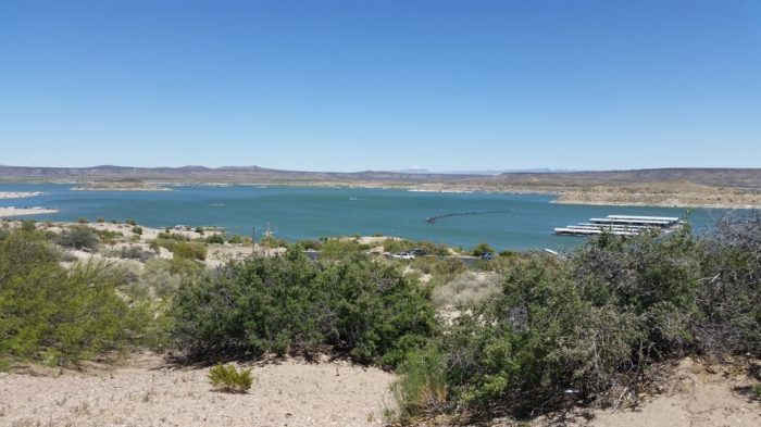 Elephant Butte State Park lies just north of Truth or Consequences (300-310 Hawthorne Boulevard, Elephant Butte).