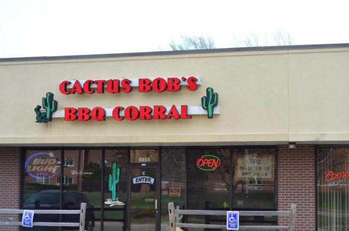 5. Cactus Bob's BBQ Corral