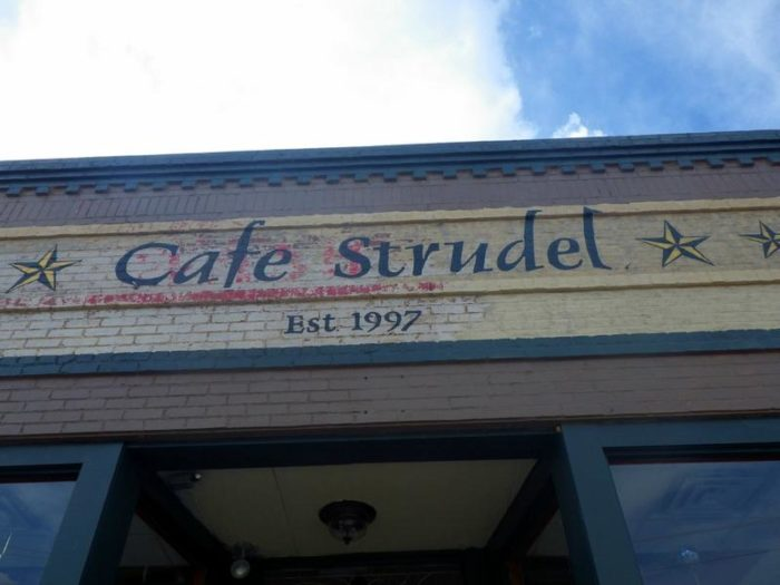 9. Cafe Strudel, Columbia
