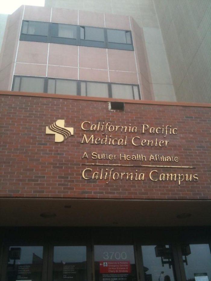 7. California Pacific Medical Center, San Francisco
