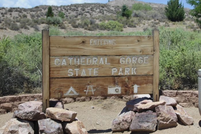 While most of our residents have visited Cathedral Gorge at least once before, there's nothing like camping out to give you even more time to explore this unique park.