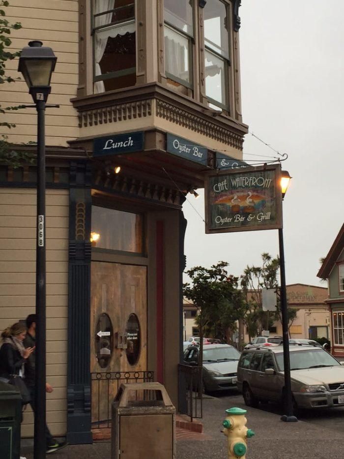 1. Cafe Waterfront 102 F Street, Eureka