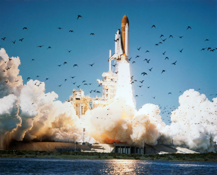 5. Watching in horror in your classroom as the Challenger Space Shuttle exploded.