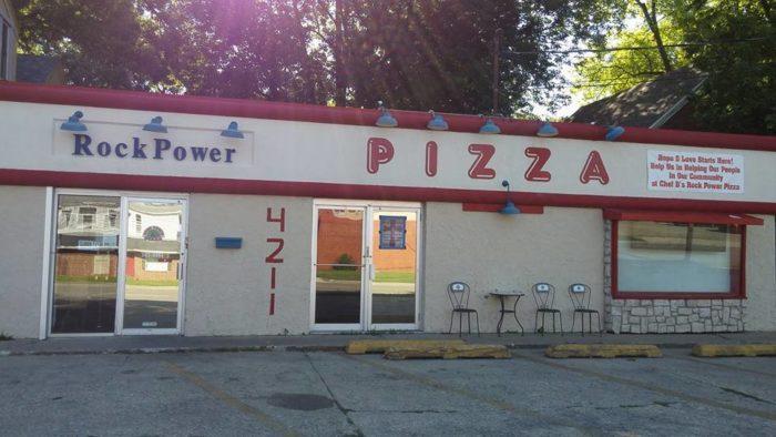 2. Chef D's Rock Power Pizza