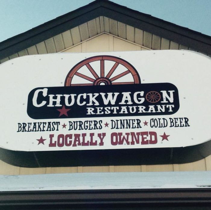 2. The Chuckwagon Restaurant, Adair