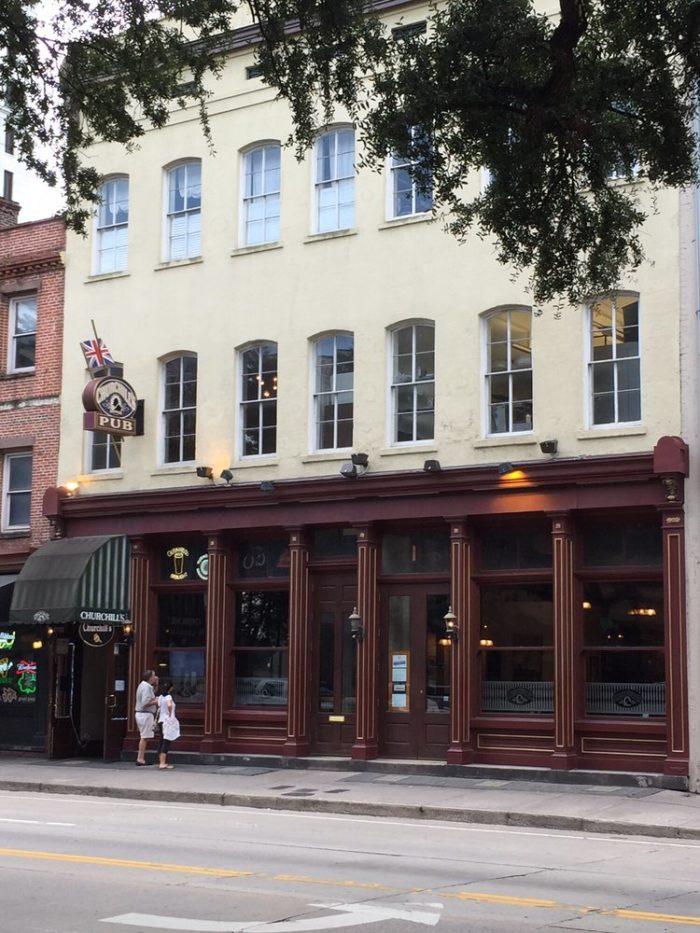 1. Winston's Wine Bar—13 W Bay St Savannah, GA 31401