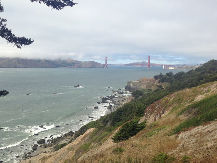 3. The rocky coastline, best experienced on the Lands End and Batteries To Bluffs Trails