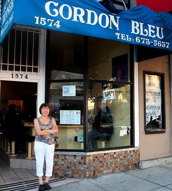 8. Cordon Bleu: 1574 California St.