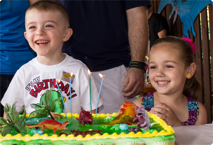 If you have little ones, they can even have birthday parties here!