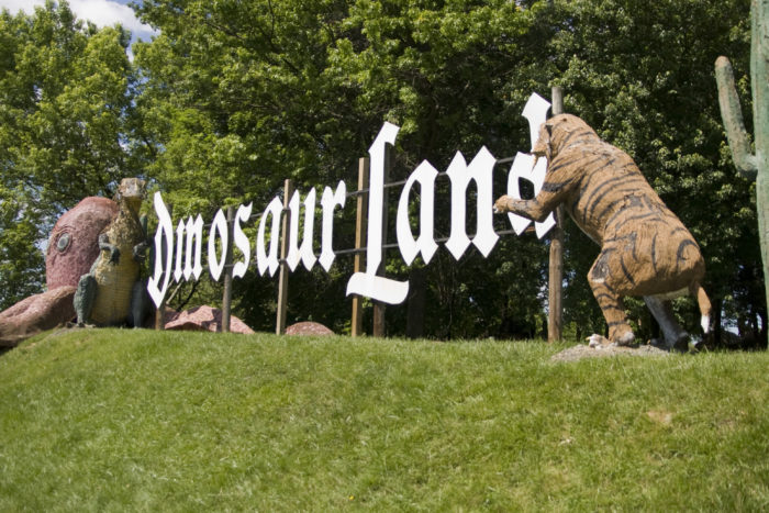 Dinosaur Land has been entertaining travelers for 50 years on the side of Stonewall Jackson Highway. This roadside attraction has over 50 dinosaurs and much more, all for your entertainment.