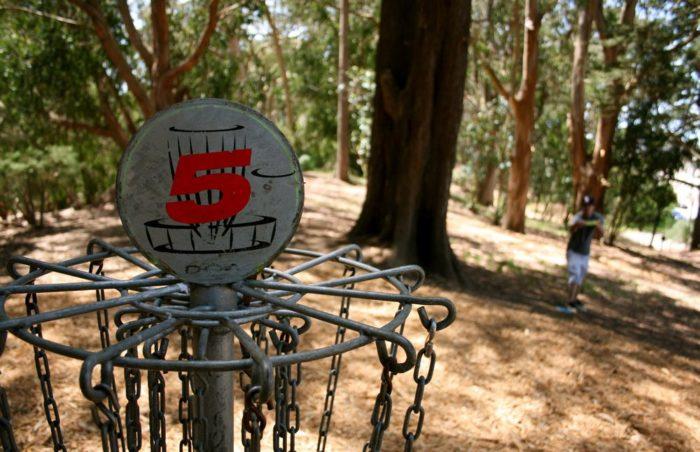 2. Play An Intense Game of Disc Golf