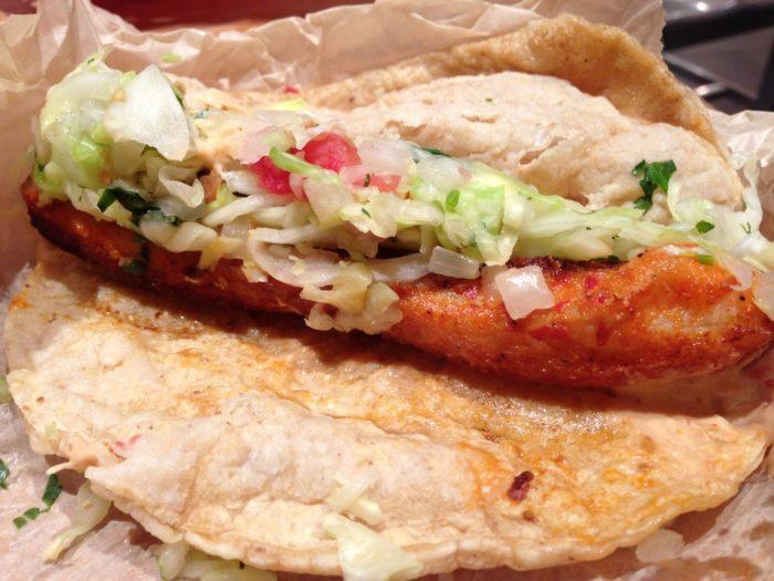 district taco food