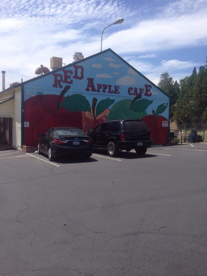 2. Red Apple Cafe  2740 Hwy 50, Placerville