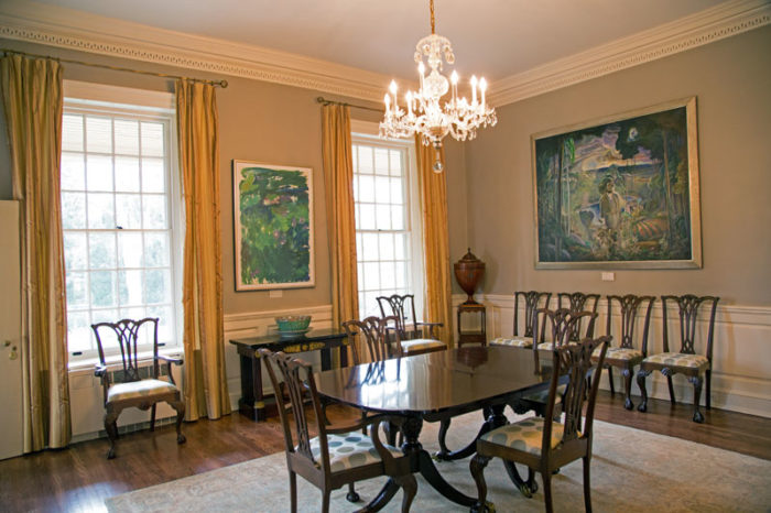 The Dining Room Is Particularly Haunted Delaware Governors House