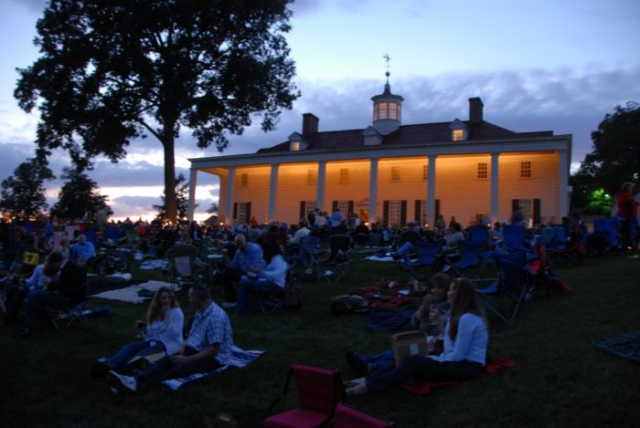 17. Enjoy cheese and wine on the lawn of Mount Vernon