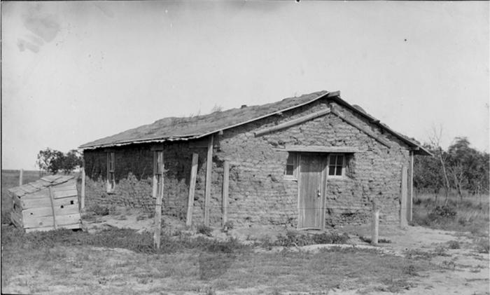 9. Sod schoolhouse, Dundy County