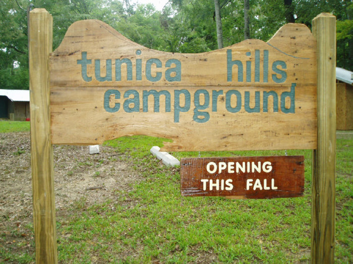 Recently, Tunica Hills Campground opened up to travelers in the area.