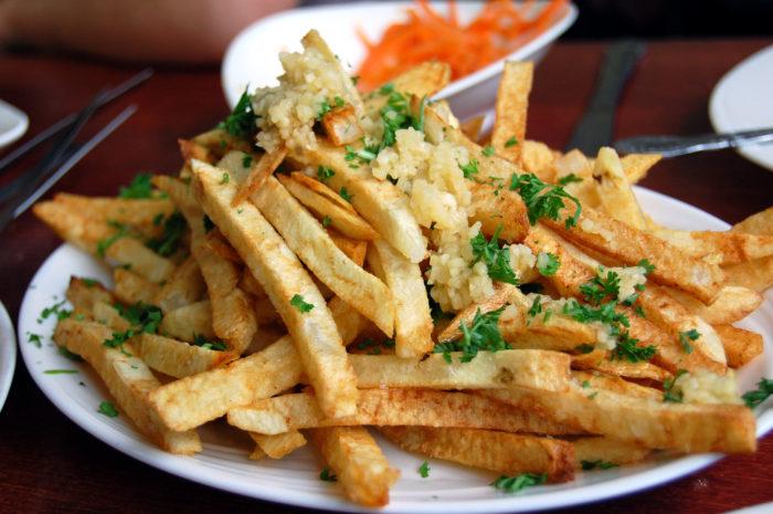 5. Garlic Fries