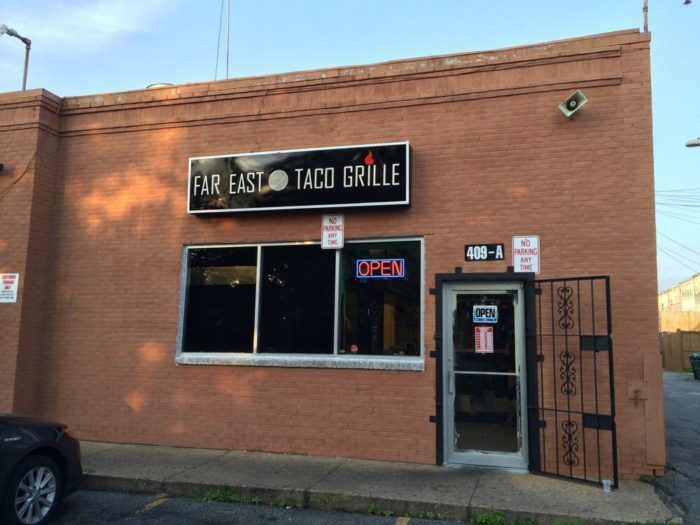 3. Far East Taco Grille - 409 15th St NE