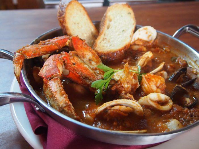 1. Cioppino's Fish Stew