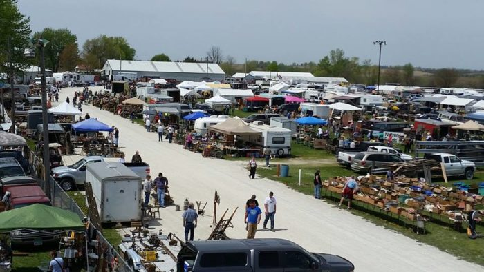 This flea market full of interesting things, with a huge variety of treasures to explore.