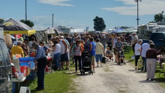 This year marks the 40th year since this amazing flea market started.