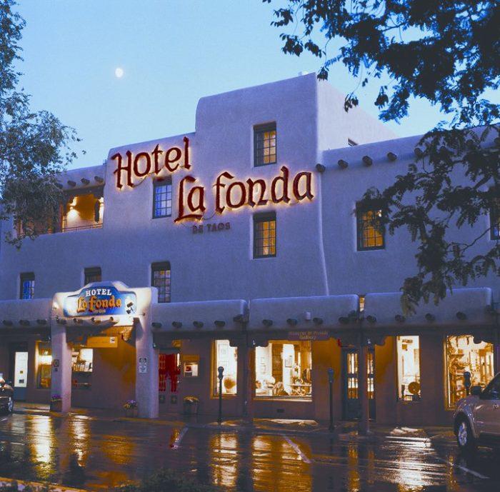 9. Hotel La Fonda de Taos,108 South Plaza, Taos