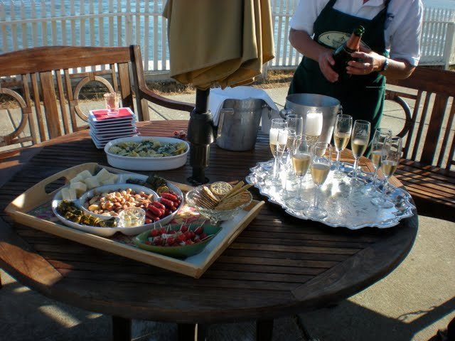 Bryan and Stephanie will be your hosts, serving you afternoon champagne and hors d'oeuvres, a 4-course dinner, and homemade breakfast. They will also give you a tour and talk about the history of the lighthouse and the old fog horn.
