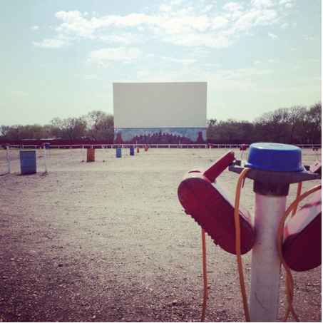 2. Galaxy Drive-In Theatre (Ennis)