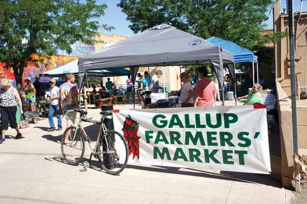 5. Gallup Farmers Market, on the 200 block between Coal and Aztec, Gallup