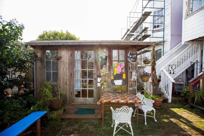 8. A Garden Cottage in Bernal Heights