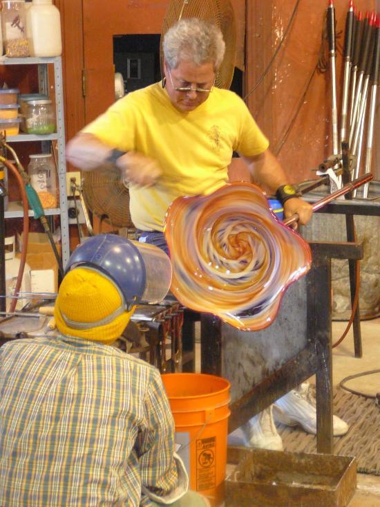 6) Rosetree Blown Glass Studio, 446 Vallette St.