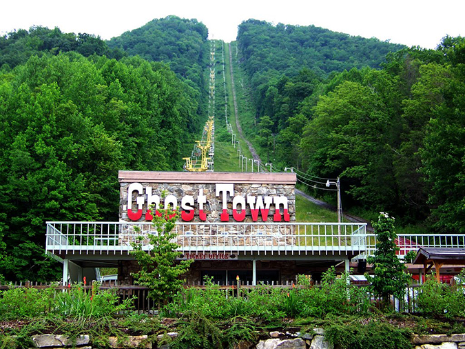 8. Ghost Town in the Sky, North Carolina