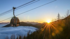 New Hampshire's Longest Scenic Gondola Ride Takes You To Hidden Caves