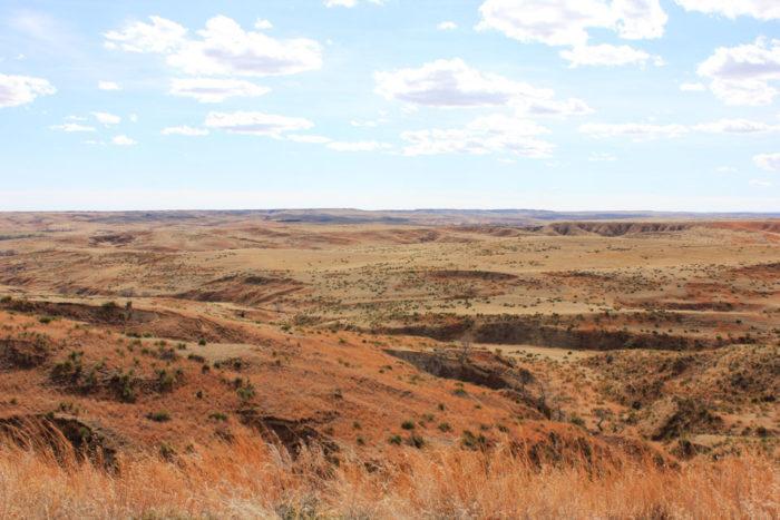 3. Nebraska's Little Grand Canyon, Wauneta
