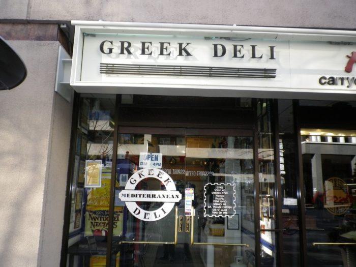 8. Greek Deli