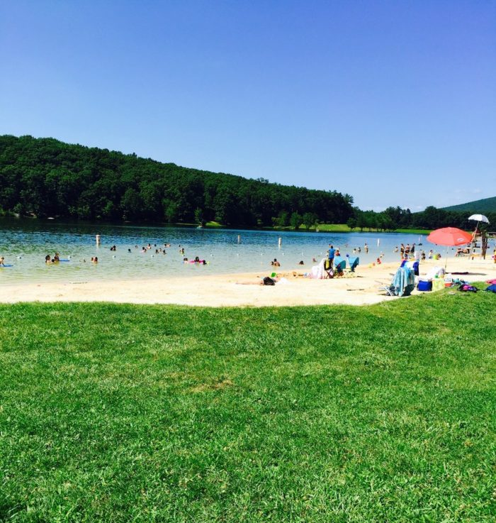 Greenbrier State Park is a Maryland State Park located in Boonsboro and the beach and lake there should be your new go-to destination when you need gorgeous water in your life