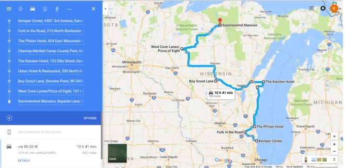 A 9Stop Road Trip Of Haunted Places in Wisconsin – Road Map Wisconsin