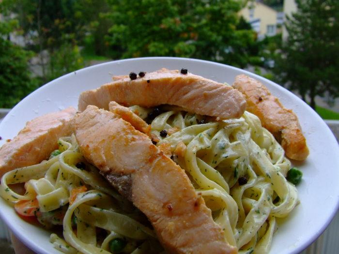 9. Salmon Dinner