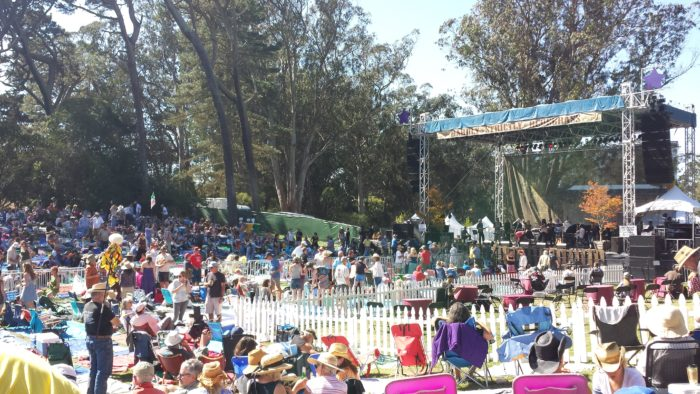 5. Feel the music at Hardly Strictly Bluegrass.
