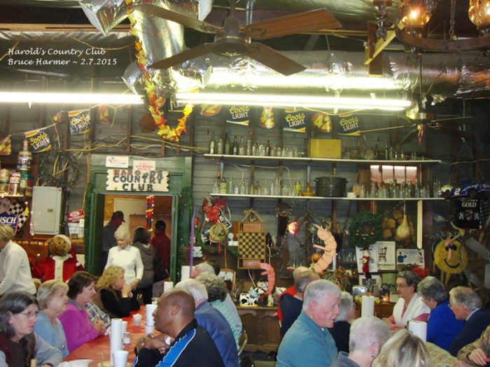 This bar and grill opened in 1973 and is an institution in Yemassee.