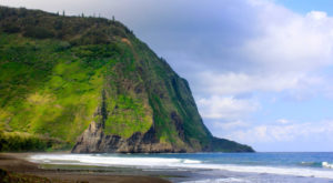 The Hidden Waipio Beach In Hawaii Will Take You A Million Miles Away From It All