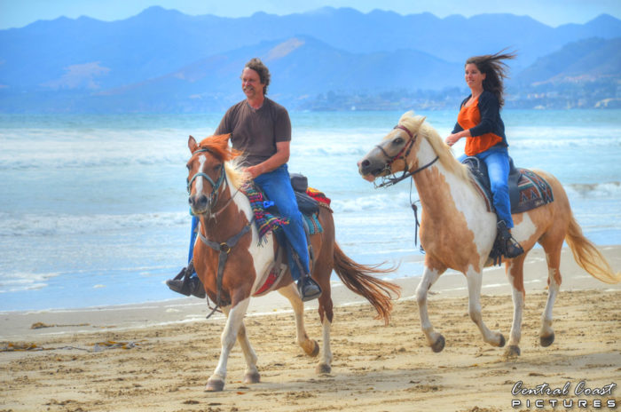 5. Horseback riding on the beach? Absolutely!