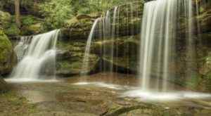Most People Have No Idea This Hidden Waterfall In Ohio Even Exists…And It's Really Easy To Find
