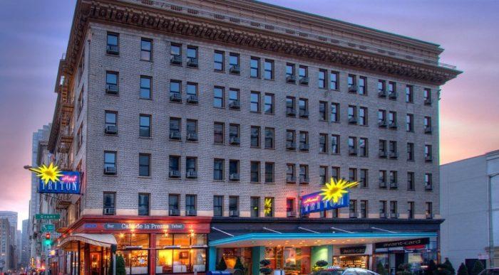 7. Hotel Triton: 342 Grant Avenue