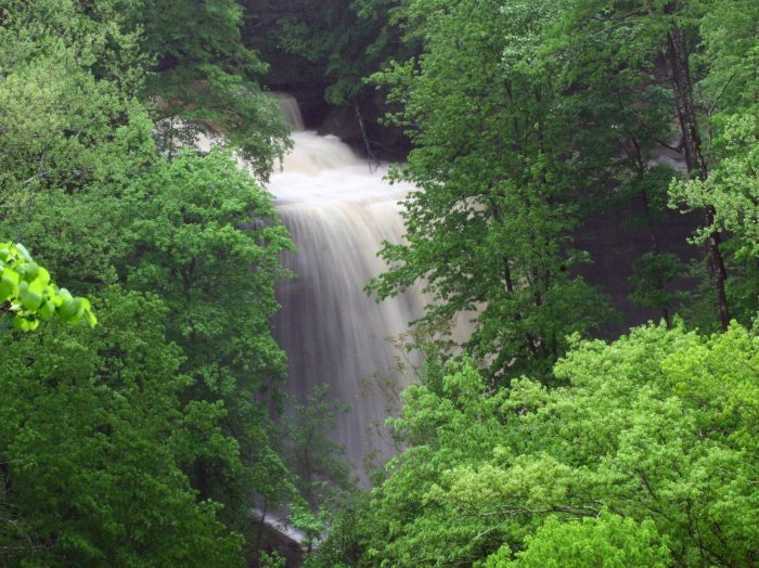 10. Clifty Falls State Park - Madison
